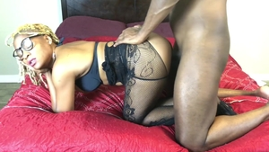 Big ass ebony wife cock sucking HD