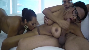 Huge boobs mexican babe wishes hard pounding in HD