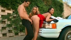 Big ass Aleska Diamond wishes for group sex
