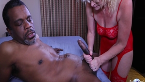 Very hot Creampie Cathy receives rough nailing