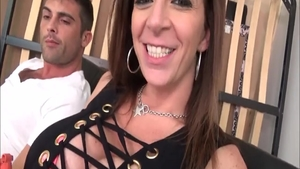 Rough threesome together with Sara Jay