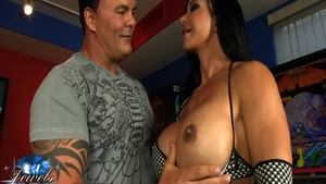 Ass pounded big tits american Jewels Jade