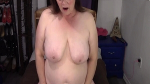Chubby BBW receives rough nailing in HD