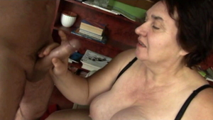Hard nailining escorted by hairy european MILF