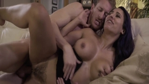 Babe Reena Sky together with Ryan Mclane hard pussy fucking HD