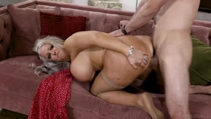 Sloppy fucking together with big boobs blonde hair Alura Jenso