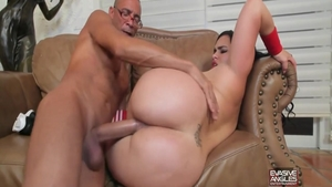 Rough nailing together with chubby latina babe