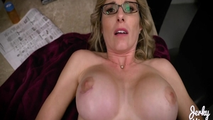Stepmom Cory Chase raw pussy fuck
