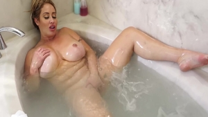 Solo large boobs Eva Notty mature pussy eating