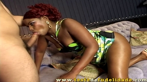 Hottest ebony mature reverse cowgirl HD