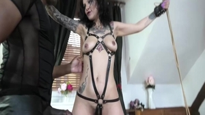 Passionate european mature digs tied up