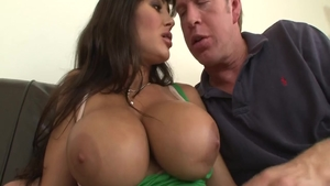 Pussy fucking with big boobs mature Lisa Ann