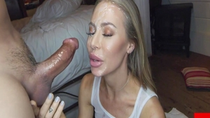Homemade pussy fucking escorted by Nicole Aniston