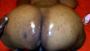 Horny african BBW has a passion for rough nailing in HD