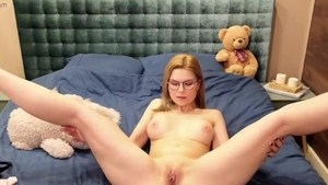 Too cute russian amateur teasing live on cam