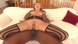 Mandy Bright and Lex Steele anal interracial