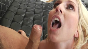 Christie Steven is really lustful blonde haired