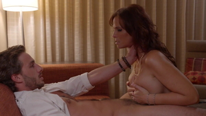 Mature Syren Demer in sexy stockings first time doggy in hotel